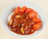-蕃茄牛肉飯-トマトと牛肉のかけご飯