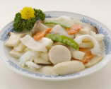 -野菰炒双鮮-海鮮とエリンギの炒め