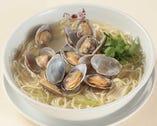 <蛤蜊湯麺>あさりそば