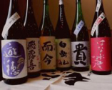 お刺身と相性の良い日本酒を利き酒師が丁寧にご紹介します。