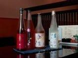 寿司と相性が良く個性的な梅酒、柚子酒もご用意してます。