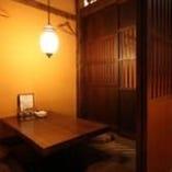 ドア付の堀りごたつ完全個室 3部屋 完備!!
