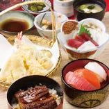 食べたい和食が揃った『聚楽御膳』!!