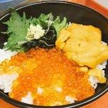 【自慢の海鮮丼】 旬の鮮魚を贅沢に使用した海鮮丼が豊富!