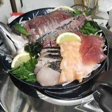 酒の肴にぴったりな海鮮料理が充実
