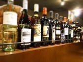 各国のワインを取りそろえました。