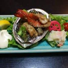海鮮を中心とした創作料理