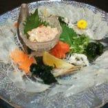 美味しい海鮮料理を豊富にご用意◎