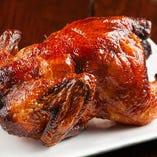 酔っぱらい鶏の丸揚げ