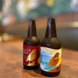 プレミアムビール。飲み放題コースもあります。