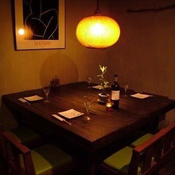 テーブル席・6名様