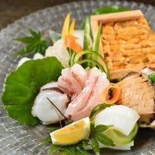 季節魚介のお造り