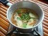 南部ホーチミンの名物スープ カインチュア (お魚と南国野菜の三味~甘酸辛~特製スープ)