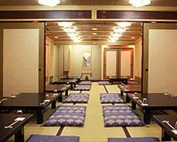 3階の大広間 60名様まで宴会可能です。