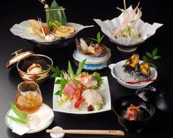 10,000円コース(税別)の一例 お祝いの宴の席には最適です。