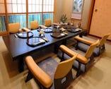 個室でご接待やお食事をプライベートに楽しめます!