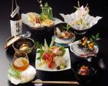 10,000円(税別)コースの一例 季節を感じる和の宴。