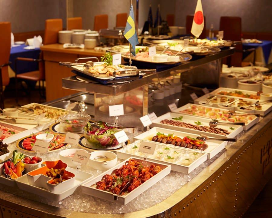 【お料理のみ】土日祝日限定 ランチブッフェ 全55品以上3,480円(税・サ込) デート・会食・パーティー