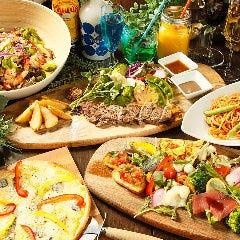 人数が増えるほどお得になるパーティープラン。ビュッフェ&テーブルシェア、どちらにも対応いたします!
