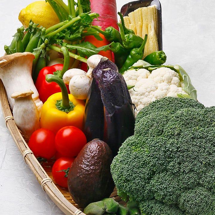 吟農園の採れたて新鮮!無農薬野菜