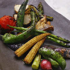 吟農園の焼野菜
