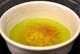 抹茶クレームブリュレ