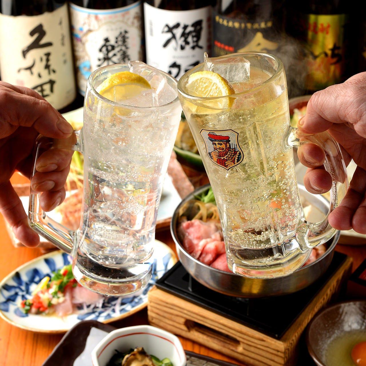 レモンサワー60分飲み放題が500円!
