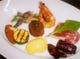アラカルトで人気の前菜盛り合わせ。日々食材が変わります・・