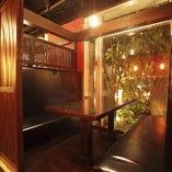 デートから最大18名様の宴会までアレンジ可能な3つの個室!