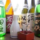 地酒、日本酒も揃えています。