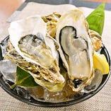 殻付き牡蠣(生or焼)