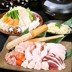 鶏ちゃんこ二彩鍋 + 一品 +飲み放題(2時間)