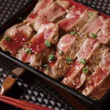 牛サーロインステーキ重 【1日限定10食】
