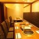 宴会も可能な完全個室。人気のため要予約です!