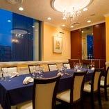 接待、顔合わせ、家族の大切な記念日など、特別な日にふさわしい上質な個室