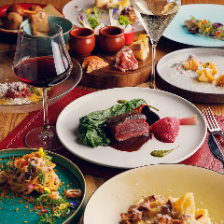 旬菜で仕立てるイタリアンコース5種