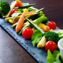 国産の野菜のみを使用しています!