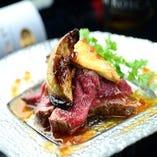 柔らかな牛肉と芳醇なフォアグラの香り豊かなロッシーニ