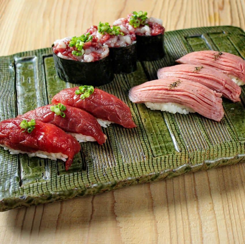 北千住 肉寿司