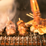 厳選された上質な肉食材のみを使用【牛肉・豚肉・鶏肉全てを厳選】