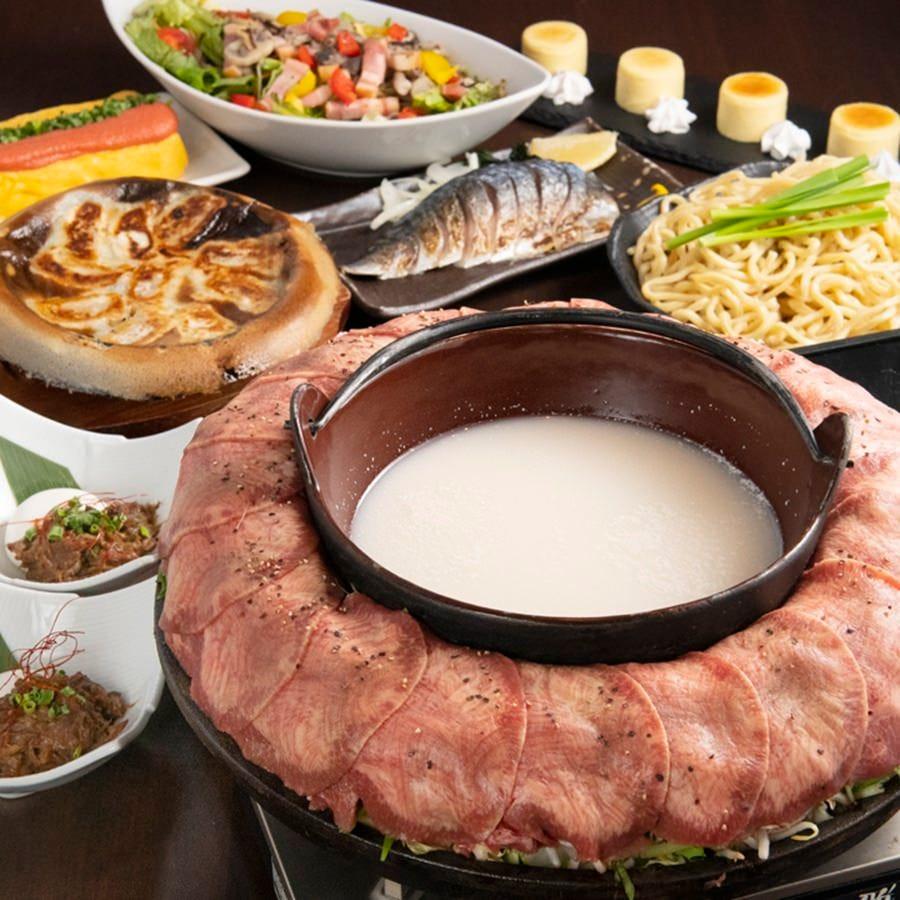 上野で牛タン焼きしゃぶ食べれるのは当店のみ!ご堪能下さい。