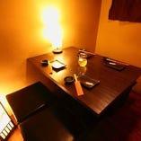 ◆2〜4名様用個室♪ゆったりシートでプライベート宴会◆