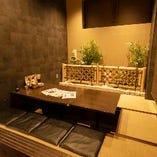 ◆和モダン個室♪掘りごたつ個室♪ゆったり足を伸ばしてのゆったり宴会♪◆