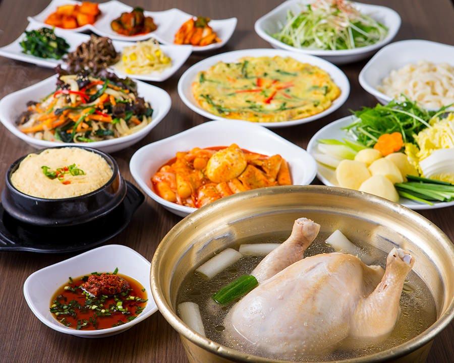 本格韓国料理を満喫!コース料理