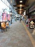 小田原駅東口から錦通り方面へ徒歩2分です♪