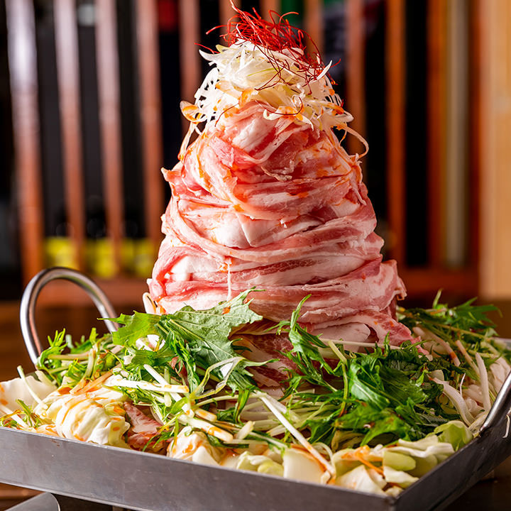 おすすめの「桜島噴火鍋」!辛みそが癖になる♪
