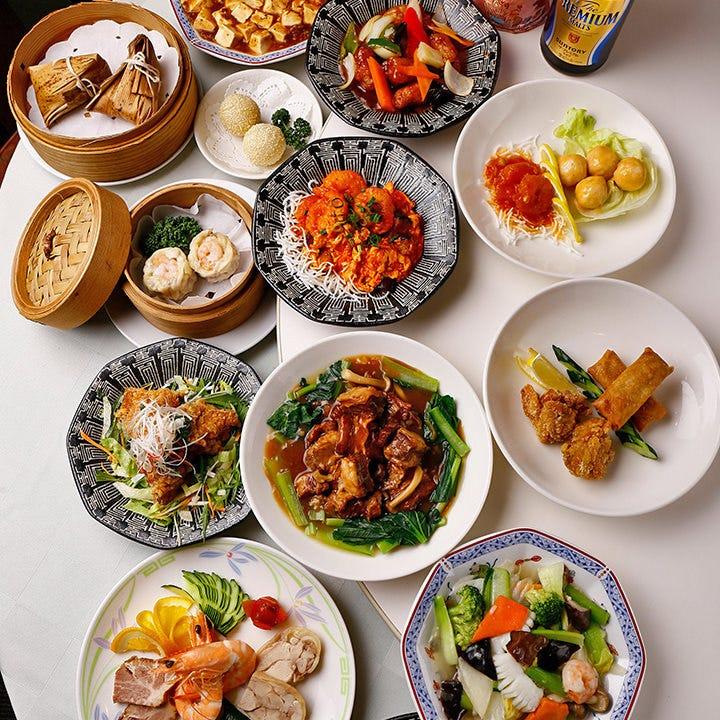 老舗中国料理の味をリーズナブルに
