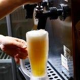 生ビールは、ザ・プレミアム・モルツ!