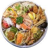 熟練シェフ自慢の六甲苑名物料理がたっぷり。上海セット(5,400円~)、お値段以上の満足感