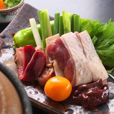 数々の地鶏を使用した創作料理をお召し上がりください♪